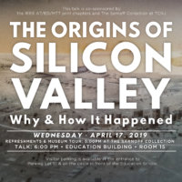 CANCELED Public Lecture | The Origins of Silicon Valley: Why and How it Happened
